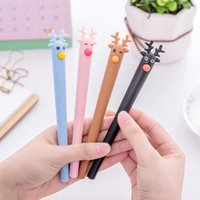 4 Piece Lytwtw' s Stationery Cute Kawaii Fawn Elk Pen No...