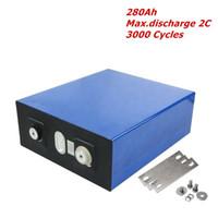 16PCS Lot 3.2V LFP 280Ah Lithium ion Lifepo4 Battery Cell for DIY 48V Solar Bank US EU Tariff free