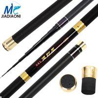 Jiadiaoni Long Carpa Taiwán Rod Ciro de pescar Carbono Súper Hard Trozo de pesca Pole de la pesca de la mano 11M / 12M / 13M Tackle JDN088