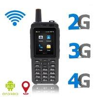 UNIWA F40 Teléfono Radio 4G LTE POC TELEFONO 7S WALKIE TALKIE Android 6.0 Zello PGPS Terminal Móvil Dual SIM FM TRANSCEIVER1