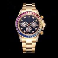 Relógio Mecânico Automático de Ouro feito por New Alta Qualidade Top Mestre Luxo Lazer Sports Watch