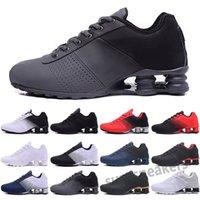 SHOX 2021 Nuovo Consegna 809 TN Cuscino Scarpe da corsa Tripla Black Bianco Donne Donne Sport Trainer Uomo Traspirante Athletic Sneakers Athletic 36-46 S25