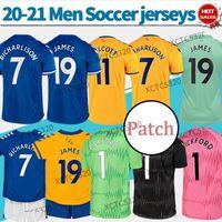 Toffees # 19 James Soccer Jerseys Richarlison Davies Home Thouse 3rd 2021 رجل أطفال حارس مرمى قميص مخصص