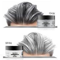 Унисекс временный краситель волосы волосы цвет временных волос цвет волос стайлинг цвет грязи однократное литьевая паста 8 цветов составляют