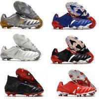 Classici predatore acceleratore elettricità precisione mania fg moda db zidane zzmen scarpe da calcio tacchetti stivali da calcio taglia 39-45