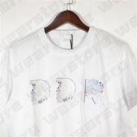 2022 Neue Herren T-shirt Stylist T-shirt Big Hohe Qualität Hip Hop Männer Frauen Kurzarm 3D Mode Designer T-Stück