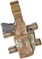 Idrogear التكتيكية مسدس الفخذ الحافظة إسقاط الساق الحافظة تعديل مسدس الناقل مع 9 ملليمتر ماج الحقيبة لليد اليمنى العالمي