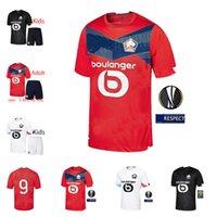 LOSC Lille Nova Jersey 2020 2021 Yazici Çelik Bamba 20 21 Lille Olympique Kits Adult Kids Jikone Rsanches Maillot de Football Shirt