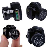 Mini cámara inalámbrica 1080P grabadora de audio audio Y2000 Videocámara Pequeño DVR DVR Seguridad Secret Nanny Car Sport Micro Cam con MIC