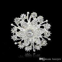 Broches Lindamente Natal Broches moda jóias Broches Pinos grosso Cristal Diamante partido Pinos