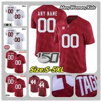 2021 Alabama Crimson Tide College Football Jersey personnalisé Mac Jones Miller Forristall Slade Bolden Bryce Young Tagovailoa Trey Sanders 4XL