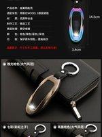 Tesla Modeli için Uygun 3 Araba Anahtarı Durumda Tesla Model-S Model-X Metal Anahtar Kabuk Toka