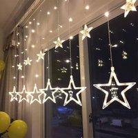 Romantico intelligente LED di Natale Little Star Neon vacanze Multi-Smart Active cortina di nozze Shopping Centre luci decorative