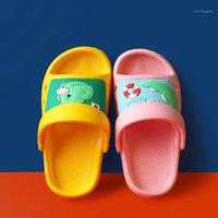 Sandálias Chinelos de Chinelos de Verão Meninos e Meninas Indoor Home Soft Bottom Não-deslizamento bonito dos desenhos animados bebês sapatos pequenos sandálias do bebê1