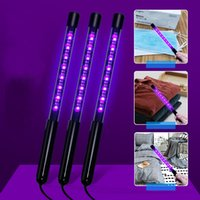UV Light 5W 7W Ultraviolet Sterilization Disinfection Stick Handheld Sterilization Lamp Waterproof Sterilizer Stick