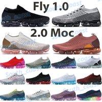 Fly 1.0 кроссовки кроссовки 2.0 MOC мужские подушки кроссовки заводят черный горячий удар нефрита ржавчина розовая струна спрайт тройной белый чистый платиновый кроссовки