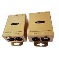 Ev Sineması Sistemi PRO Ses için RJ45 Adaptörü Cat5 / 6 Dönüştürücü XLR Genişletici (Bir Çift) Dengeli