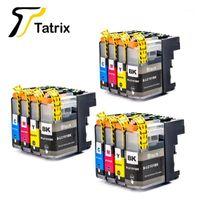 Tatrix 12PK LC101 LC103 Cartuccia intera inchiostro per Brother -J152W MFC-J245 MFC-J285DW MFC-J450DW MFC-J470DW MFC-J475DW Printer1
