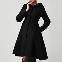 2019 Fashion Winter Autumn Women Wool Coat Long Sleeve Solid...