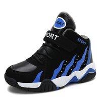 Nexnan Winter Kinder Casual für Kinder Jungen Schuhe Mädchen Schnee Sneakers Plüsch Warme Sport Trainer Basketball Y201028
