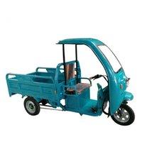 Helado Making Machine 3-Wheeler Electro-Tricycle Triciclo eléctrico Tuk Tuks Sin Toldo