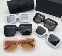 여름 선글라스 패션 고글 남자 여자 선글라스 UV400 뜨거운 판매 선글라스 5 색 고품질 상자