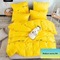 Комплекты постельного белья Аланна напечатаны сплошной домашний набор 4-7 шт. Высокое качество Прекрасный узор с звездным деревом Flower1