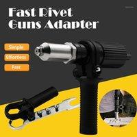 Pistolet électrique Pistolet Rivet Pistolet Pistolet Adaptateur Tool de rivetage sans fil Insert Noix Tool Tool # YG1