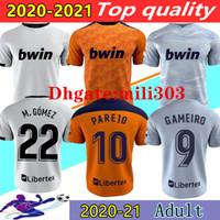 2021 فالنسيا CF لكرة القدم الفانيلة camiseta de fútbol home بعيدا 20 21 guedes c.soler gameiro rodrigo parejo ثالث كرة القدم قميص