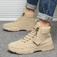 Mazefeng Men Tactical Military Army Boots Breathable Leather Mesh High Top Casual Desert Work Shoes Mens SWAT Ankle Combat Boot 201110