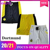 20 21 Dortmund Soccer Shorts Sancho Reus Home Away 3a 2020 2021 Pantaloni sportivi da calcio Dortmund S-2XL