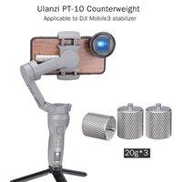 Estabilizadores PT-10 Metal contrapeso para DJI Osmo Mobile 3 Contador Peso Estabilizador de Gimbal Equilibrio aplicado a Moment Anamorphic Len