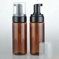 150ml leerer bernsteiner kunststoff schäumender flasche seifenspender container 3oz schaumseiap-dispense schaum lotion pumpe flasche # 2324
