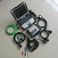 Ferramentas Diagnósticas MB Star C4 com laptop CF19 CPU 4GB Instalado SD HDD (500GB) Software 2021.03V O EST WIN7 SYSTEM1