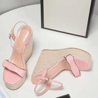 2020 новых женщин сандалии ботинки женщин платформы клинья высокие каблуки Нескользящие вскользь Гладиатор прогулочные сандалии обувь