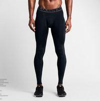 2020 Ücretsiz Kargo Erkek spor tayt nefes açık koşu spor pantolon erkek basketbol pantolon Renk Siyah Beyaz S-XXL çabuk kuruyan