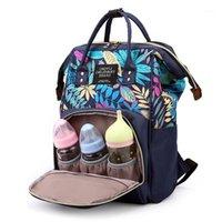 Qwz nova moda maternidade grande fralda saco para bebê grande capacidade de fralda sacola de viagem mamãe para bebê cuidados mochila mamã1