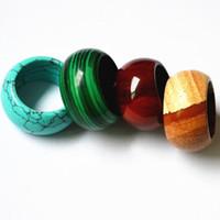 anel de pedra natural suaves anéis de jóias para o anel mulheres homens
