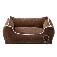 الحيوانات الأليفة السرير ل الصغيرة المتوسطة كبيرة الكلب قفص سادة ديلوكس لينة الرطوبة الرطوبة أسفل لجميع مواسم جرو الكلب منزل الحيوانات الأليفة LJ200918