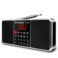 Multifunktions Digital FM Radio Media Lautsprecher MP3 Music Player Support TF Card USB-Laufwerk mit LED-Bildschirmanzeige und Timer FUNCTI1