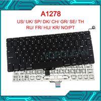 """Yeni Pro 13"""" A1278 Klavye AB UK ABD Standardı 2009 2010 2011 2012 Yıl İçin"""