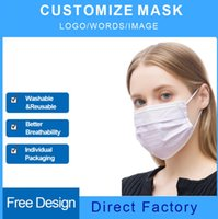 Customize Logo Anti Dust Face Masks Environmental Repeatedly Washable And Reusable Adults Facemasks High Quality Made Cheap Fashion