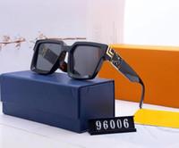 2021 Alta calidad NUEVA MODA DE VINTAGE VINTAGE Gafas de sol Vintage Mujeres Diseñadores de la marca Gafas de sol para mujer Gafas de sol Señoras Gafas de sol