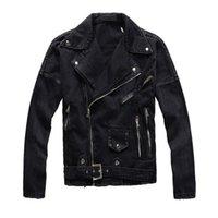 새로운 디자인 남성 재킷 남성 여성 핫 판매 줄무늬 레트로 캐주얼 데님 자켓 힙합 고민 데님 코트 자켓 찢어진