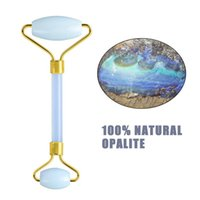 58% Off Doğal Opal Yeşim Rulo Guasha Set Opalite Yüz Masaj Yüz Rulo Yüz Zayıflama Aracı Yüz Kaldırma Masajı Guaş ScrePer