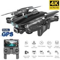 Nouveau Drone GPS avec caméra 4k Smart RC Quadcopter Drones HD 1080P WIFI FPV PLUS POINT POINT POINT PHOTOS VIDEO DRON HELICOPTER 20122222