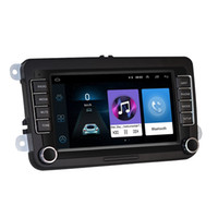 자동차 DVD 라디오 멀티미디어 플레이어 7 인치 안드로이드 Autoradio 2 DIN GPS VW / 폭스 바겐 Skoda 좌석 Octavia 골프 Touran Passat