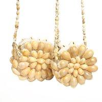 Natural Girls Conch Bag Coin Craft Handmade Shell Portafoglio Borsa Portatile Spalla portatile per Messenger Bambini Regali Gioielli H Bbyhlz LGSTG