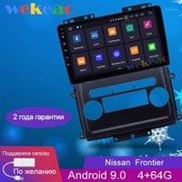 Wekeao 9 '' Android 9.0 Auto DVD Player multimediale per Frontier Xterra 2009-2012 Auto Radio GPS Navigation 2 DIN WiFi 4G1