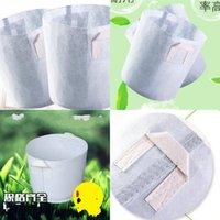 Sacchetto di piantatura del tessuto rotondo Grow Bags Borse Borse Aeration Container Flower Pot Molti dimensioni Vendita calda 14yy UU